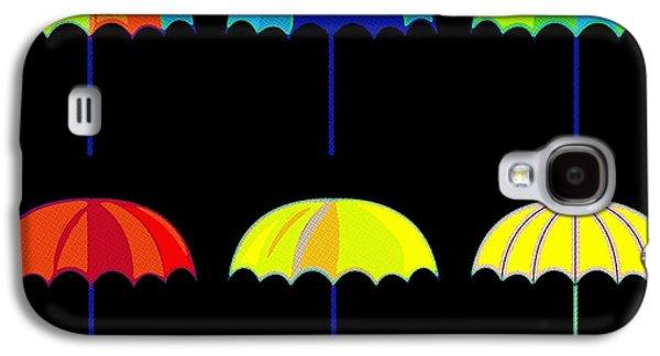 Rihanna Galaxy S4 Cases - Umbrella Ella Ella Ella Galaxy S4 Case by Florian Rodarte