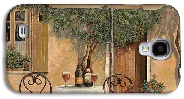 Wineries Galaxy S4 Cases - Un Altro Bicchiere Prima Di Pranzo Galaxy S4 Case by Guido Borelli