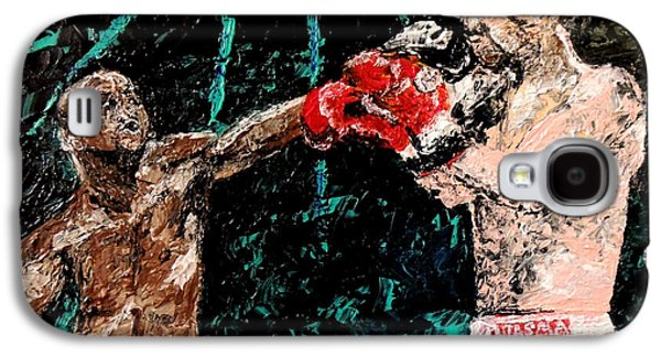 Painter Photo Photographs Galaxy S4 Cases - Undefeated - Floyd Mayweather Jr  Galaxy S4 Case by Mark Moore