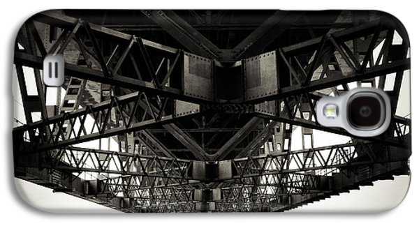Steel Photographs Galaxy S4 Cases - Under the bridge Galaxy S4 Case by Les Cunliffe