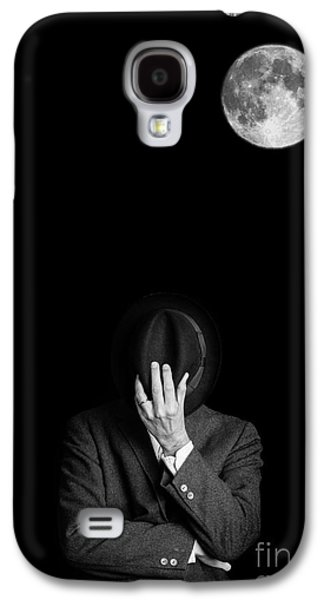 Hiding Galaxy S4 Cases - Under the moonlight the serious moonlight Galaxy S4 Case by Edward Fielding