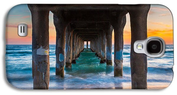 Californian Galaxy S4 Cases - Under the Pier Galaxy S4 Case by Inge Johnsson