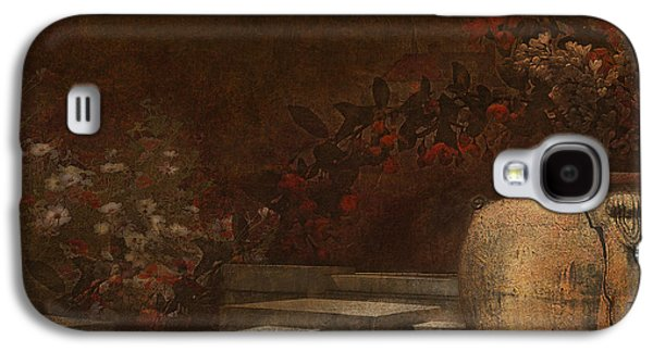 Garden Scene Digital Art Galaxy S4 Cases - Under the Surface of Things Galaxy S4 Case by Jeff Burgess