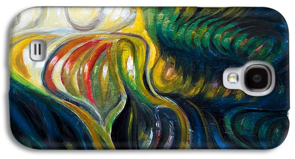 Undertow Paintings Galaxy S4 Cases - Undercurrent Galaxy S4 Case by Denis Grosjean