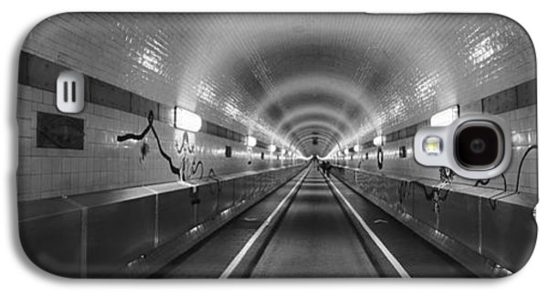 Hamburg Galaxy S4 Cases - Underground Walkway, Old Elbe Tunnel Galaxy S4 Case by Panoramic Images