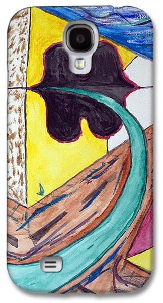 Base Path Galaxy S4 Cases - Undersea Ufo Base Galaxy S4 Case by Stormm Bradshaw