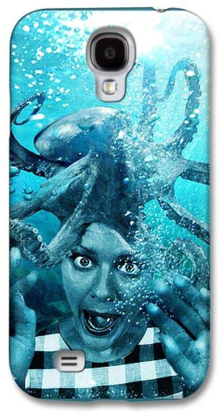 Ocean Art Photos Galaxy S4 Cases - Underwater Nightmare Galaxy S4 Case by Marian Voicu