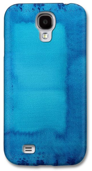 Subconscious Paintings Galaxy S4 Cases - Undiscovered Country original painting Galaxy S4 Case by Sol Luckman