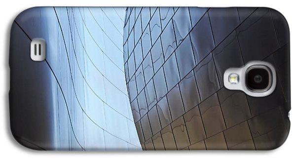 Undulating Steel Galaxy S4 Case by Rona Black