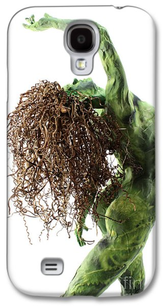Nudes Sculptures Galaxy S4 Cases - Unfurled back view detail Galaxy S4 Case by Adam Long