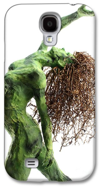 Nudes Sculptures Galaxy S4 Cases - Unfurled detail Galaxy S4 Case by Adam Long