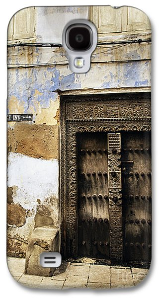 Recently Sold -  - Ancient Galaxy S4 Cases - Famous Spice Inn Hotel doorway Stone Town Zanzibar Tanzania East Africa. Galaxy S4 Case by Nasser Studios