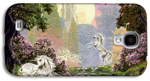 Unicorn New Born Galaxy S4 Case by Garry Walton