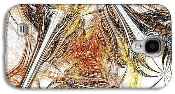 Graphic Galaxy S4 Cases - Unicorn Path Galaxy S4 Case by Anastasiya Malakhova