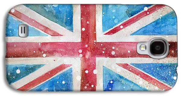 Def Leppard Paintings Galaxy S4 Cases - Union Jack Galaxy S4 Case by Sean Parnell