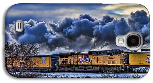 Jeff Swanson Galaxy S4 Cases - Union Pacific Train Galaxy S4 Case by Jeff Swanson