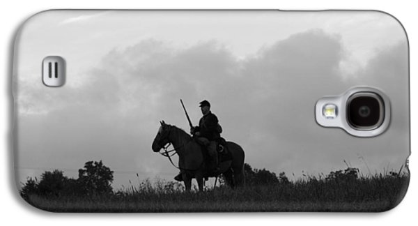 Americans Tapestries - Textiles Galaxy S4 Cases - Union Scout on Websters Hill - Perryville KY Galaxy S4 Case by Thia Stover