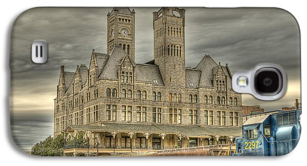 Shed Digital Art Galaxy S4 Cases - Union Station Galaxy S4 Case by Brett Engle