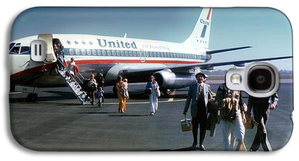 United Airlines Ual Boeing 737-222 N9069u April 1974 Galaxy S4 Case by Wernher Krutein