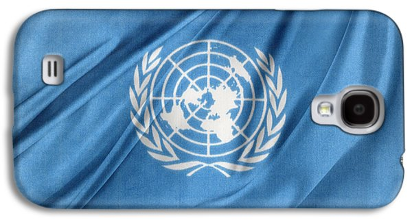 Wavy Galaxy S4 Cases - United Nations Galaxy S4 Case by Les Cunliffe