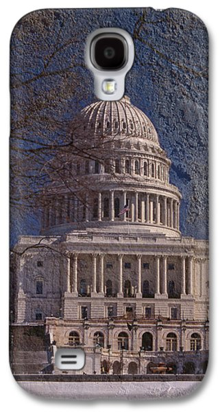 United States Capitol Galaxy S4 Case by Skip Willits