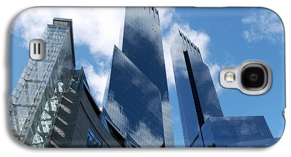 Enterprise Galaxy S4 Cases - United States, New York, Skyscrapers Galaxy S4 Case by Tips Images