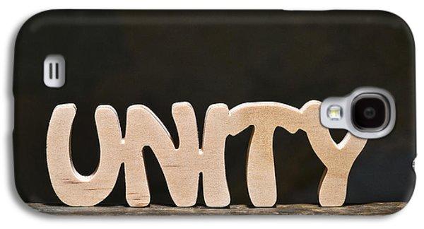 Positive Attitude Galaxy S4 Cases - Unity Galaxy S4 Case by Donald  Erickson