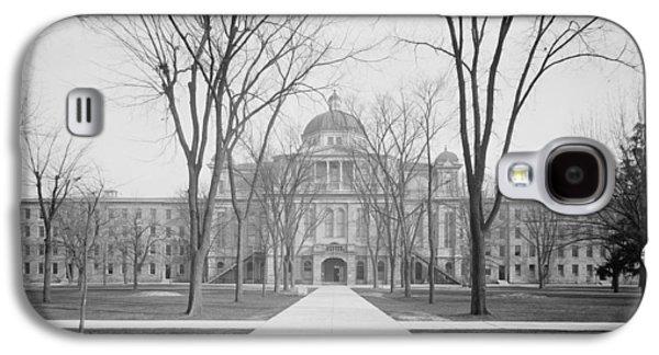 University Hall, University Of Michigan, C.1905 Bw Photo Galaxy S4 Case by Detroit Publishing Co.