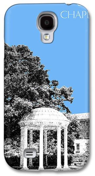 Alumni Galaxy S4 Cases - University North Carolina Chapel Hill - Light Blue Galaxy S4 Case by DB Artist