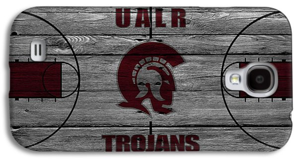 University Of Arkansas At Little Rock Trojans Galaxy S4 Case by Joe Hamilton
