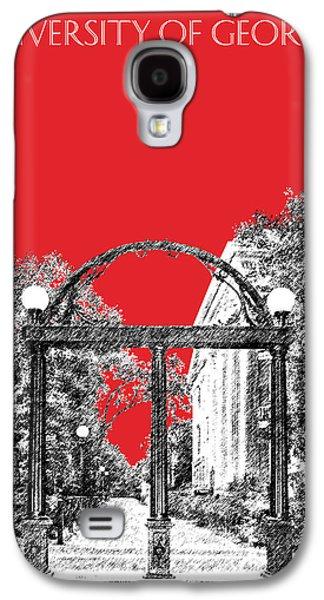 University Of Georgia - Georgia Arch - Red Galaxy S4 Case by DB Artist