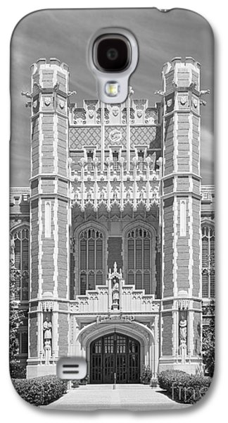 University Of Oklahoma Bizzell Memorial Library  Galaxy S4 Case by University Icons