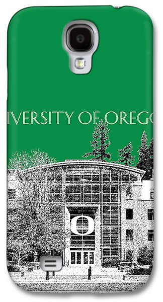 University Galaxy S4 Cases - University of Oregon - Forest Green Galaxy S4 Case by DB Artist