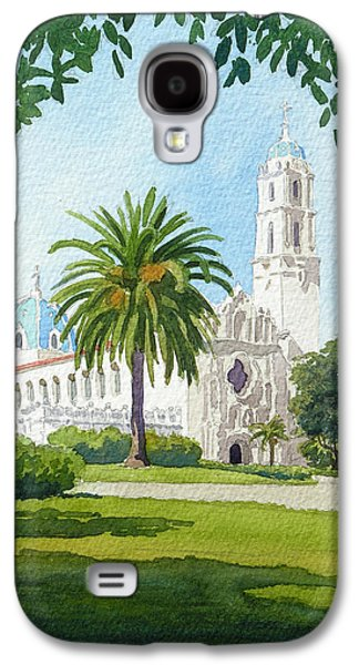 Style Paintings Galaxy S4 Cases - University of San Diego Galaxy S4 Case by Mary Helmreich