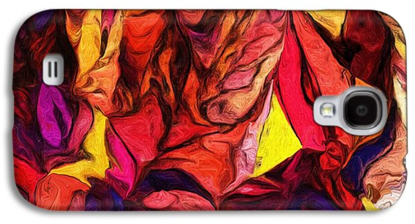 Abstract Digital Digital Art Galaxy S4 Cases - Untitled 081113 Galaxy S4 Case by David Lane