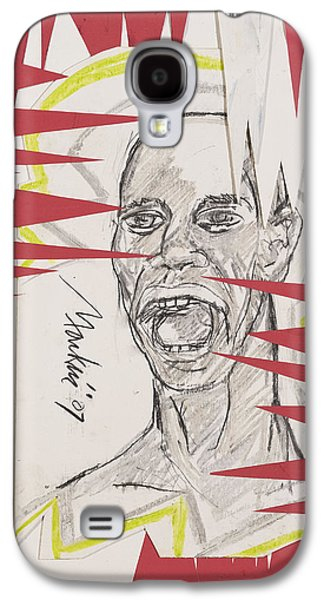 African-american Mixed Media Galaxy S4 Cases - Untitled Galaxy S4 Case by Deryl Mackie