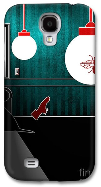 Dogs Digital Galaxy S4 Cases - Untitled No.08 Galaxy S4 Case by Caio Caldas
