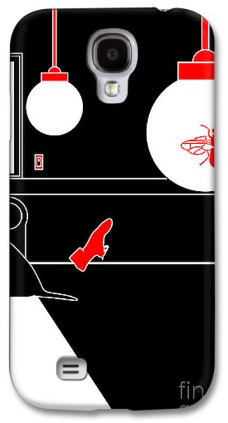 Dogs Digital Galaxy S4 Cases - Untitled No.09 Galaxy S4 Case by Caio Caldas