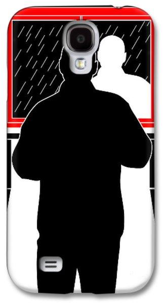 Black Man Galaxy S4 Cases - Untitled No.11 Galaxy S4 Case by Caio Caldas