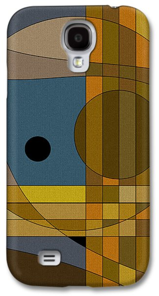 Color Block Galaxy S4 Cases - Untitled Sixth Galaxy S4 Case by Val Arie
