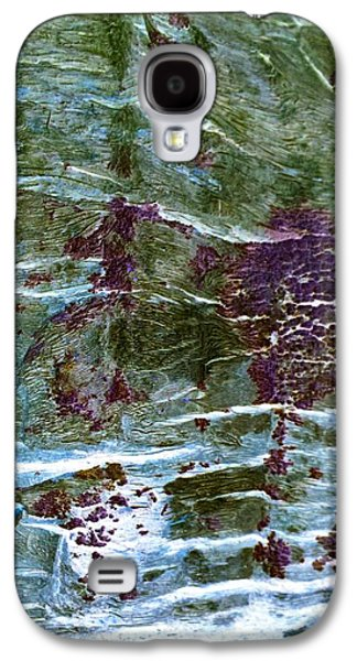 Nature Abstract Tapestries - Textiles Galaxy S4 Cases - Untitled Galaxy S4 Case by Suzi Freeman