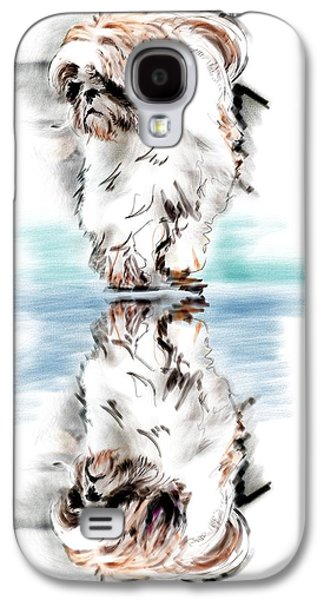 Recently Sold -  - Puppy Digital Galaxy S4 Cases - Up Or Down Galaxy S4 Case by Richard Okun
