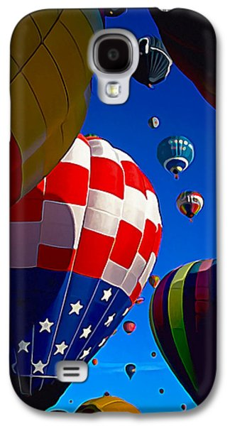 Photo Manipulation Galaxy S4 Cases - Up Up and Away 2 Galaxy S4 Case by Bill Caldwell -        ABeautifulSky Photography