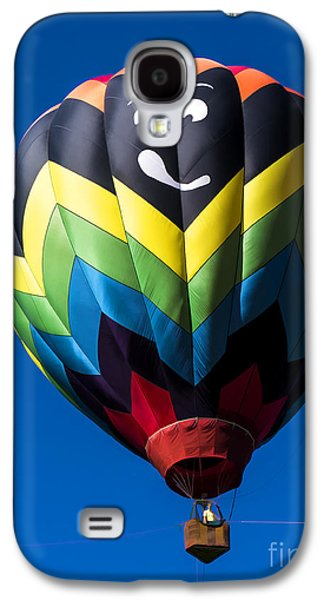 Glides Galaxy S4 Cases - Up up and away in my beautiful balloon Galaxy S4 Case by Edward Fielding