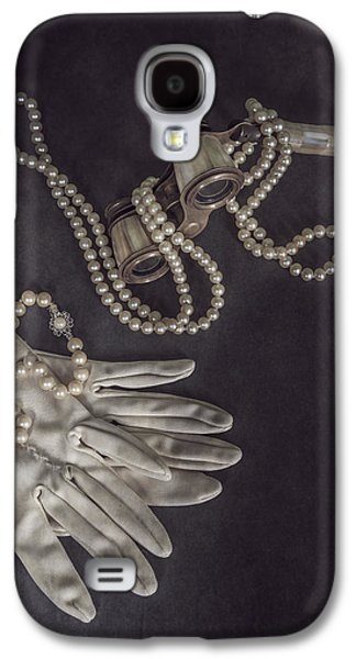 Opera Gloves Galaxy S4 Cases - Upper Class Galaxy S4 Case by Joana Kruse