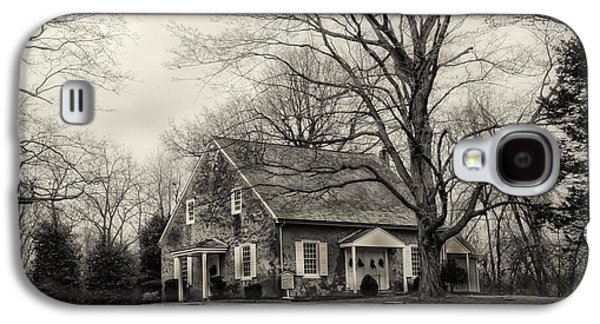 Upper Dublin Meetinghouse In Sepia Galaxy S4 Case by Bill Cannon