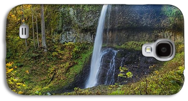 Studio Pyrography Galaxy S4 Cases - Upper North Falls Galaxy S4 Case by Scott Sutton
