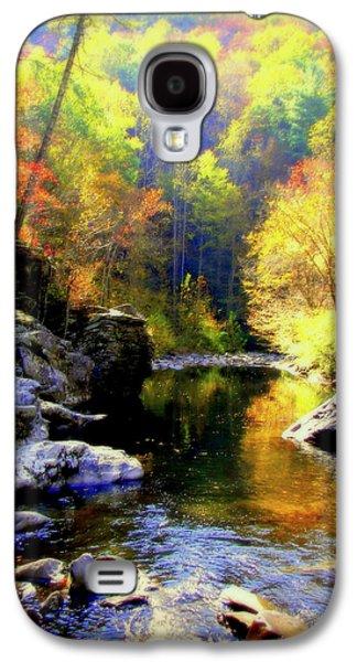 Gatlinburg Galaxy S4 Cases - Upstream Galaxy S4 Case by Karen Wiles