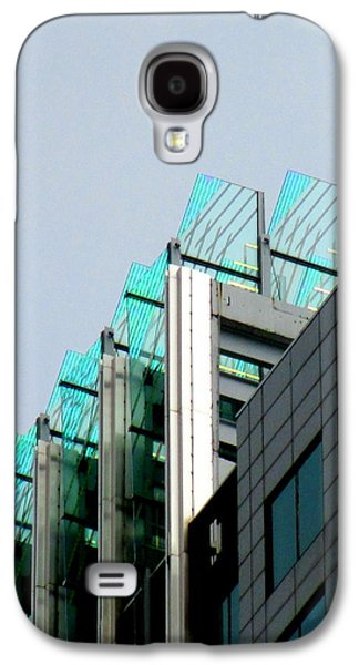 Uptown Charlotte Galaxy S4 Cases - Uptown Rooftop Galaxy S4 Case by Randall Weidner