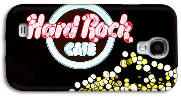 Owner Mixed Media Galaxy S4 Cases - Urban Abstract Hard Rock Cafe Galaxy S4 Case by Dan Sproul